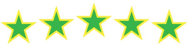 EXACTO success SYMBOL five gold stars H3B
